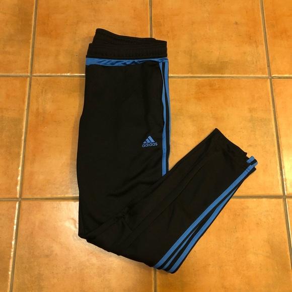 adidas pantaloni della caviglia poshmark calcio pista mens